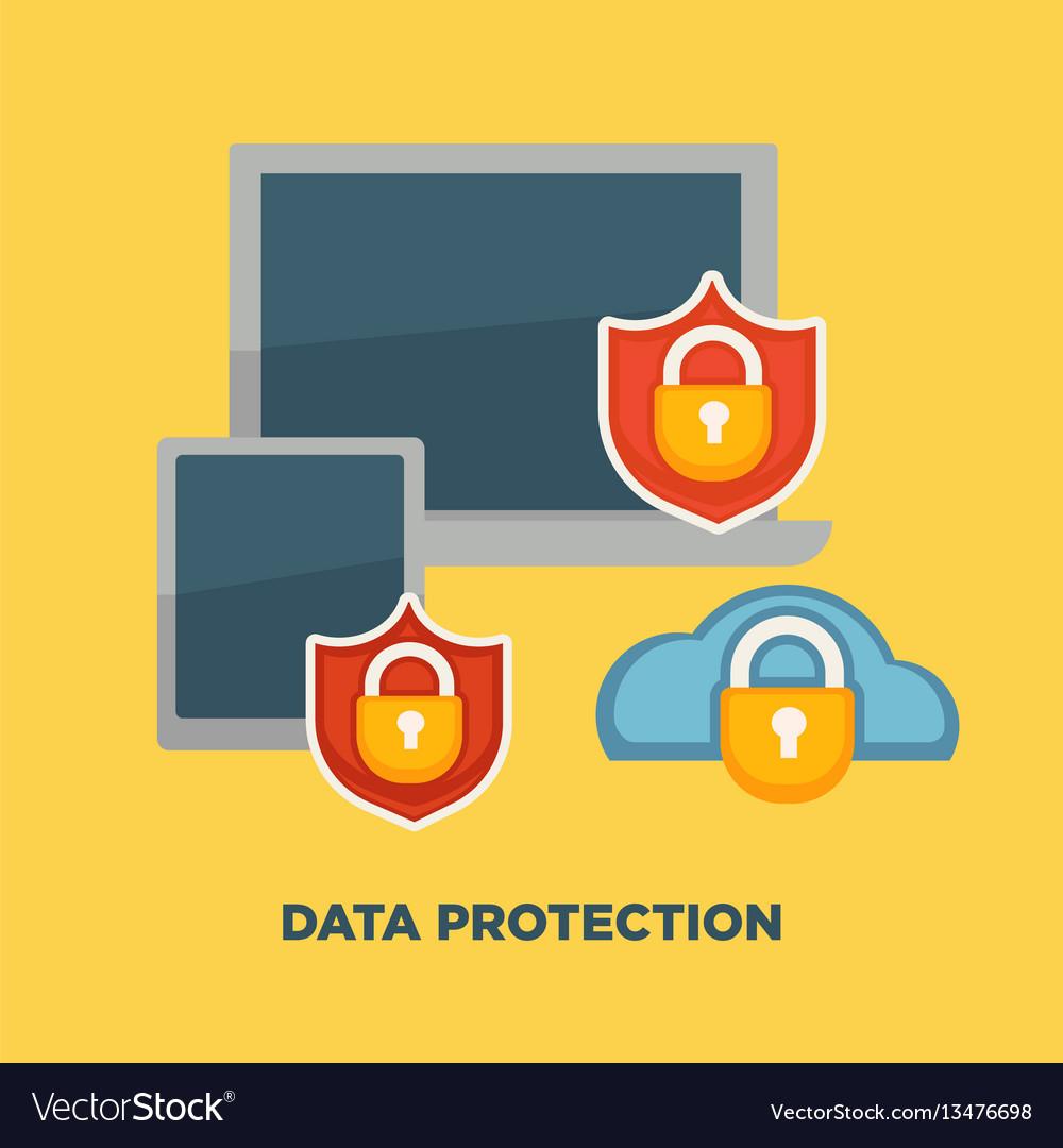 Data protection folder lock on internet security