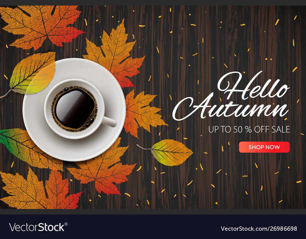 Hello autumn fall season sale and discounts