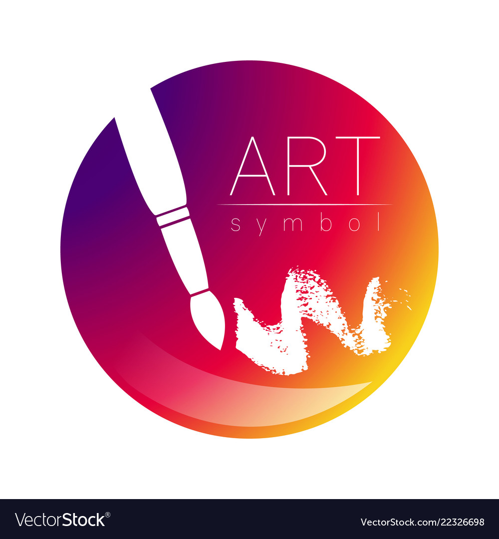 Art Logo Paint Brushes