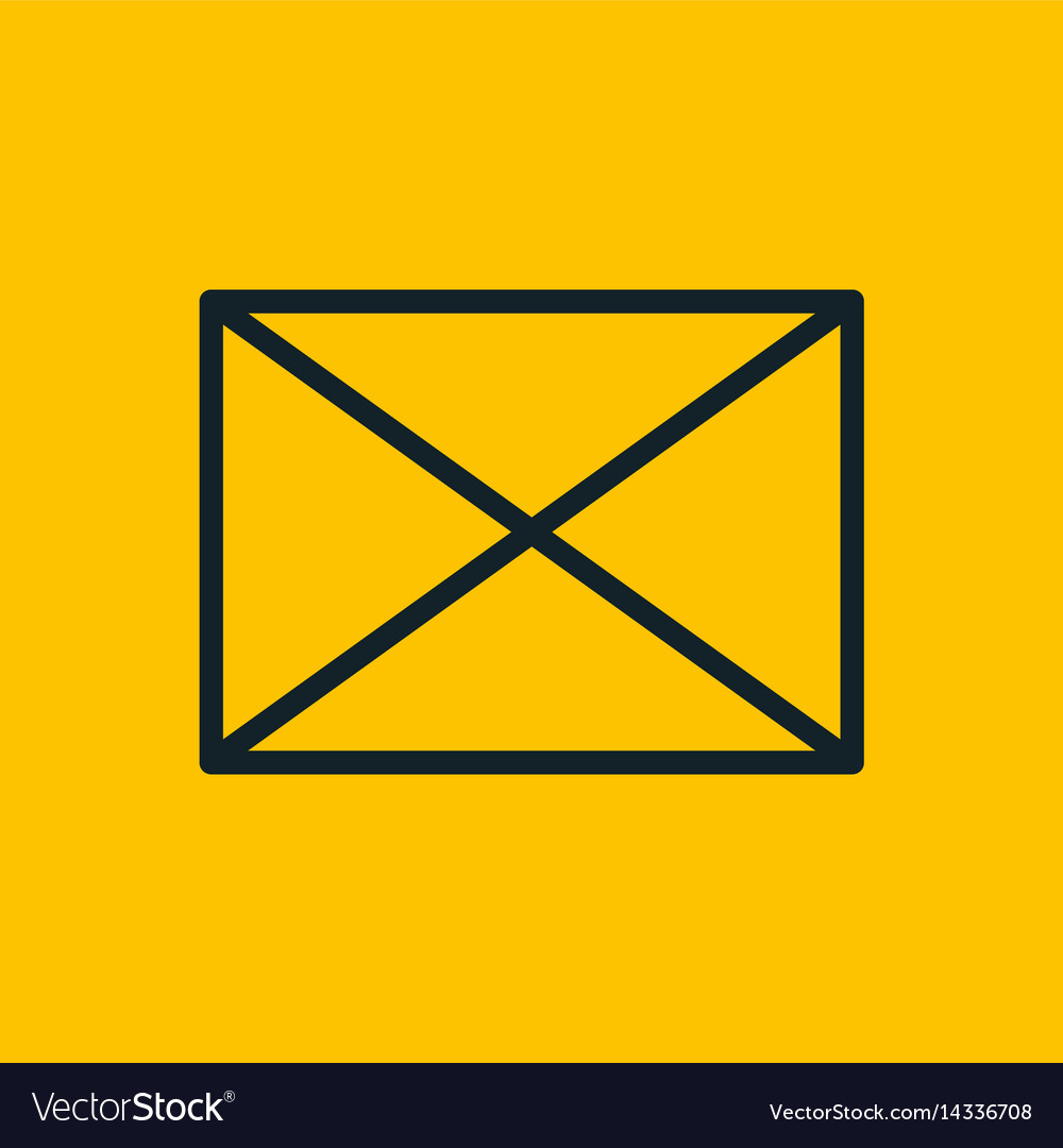 Email chat mail envelope social network icon vector image