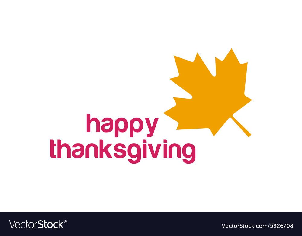 Thanksgiving day canada logo