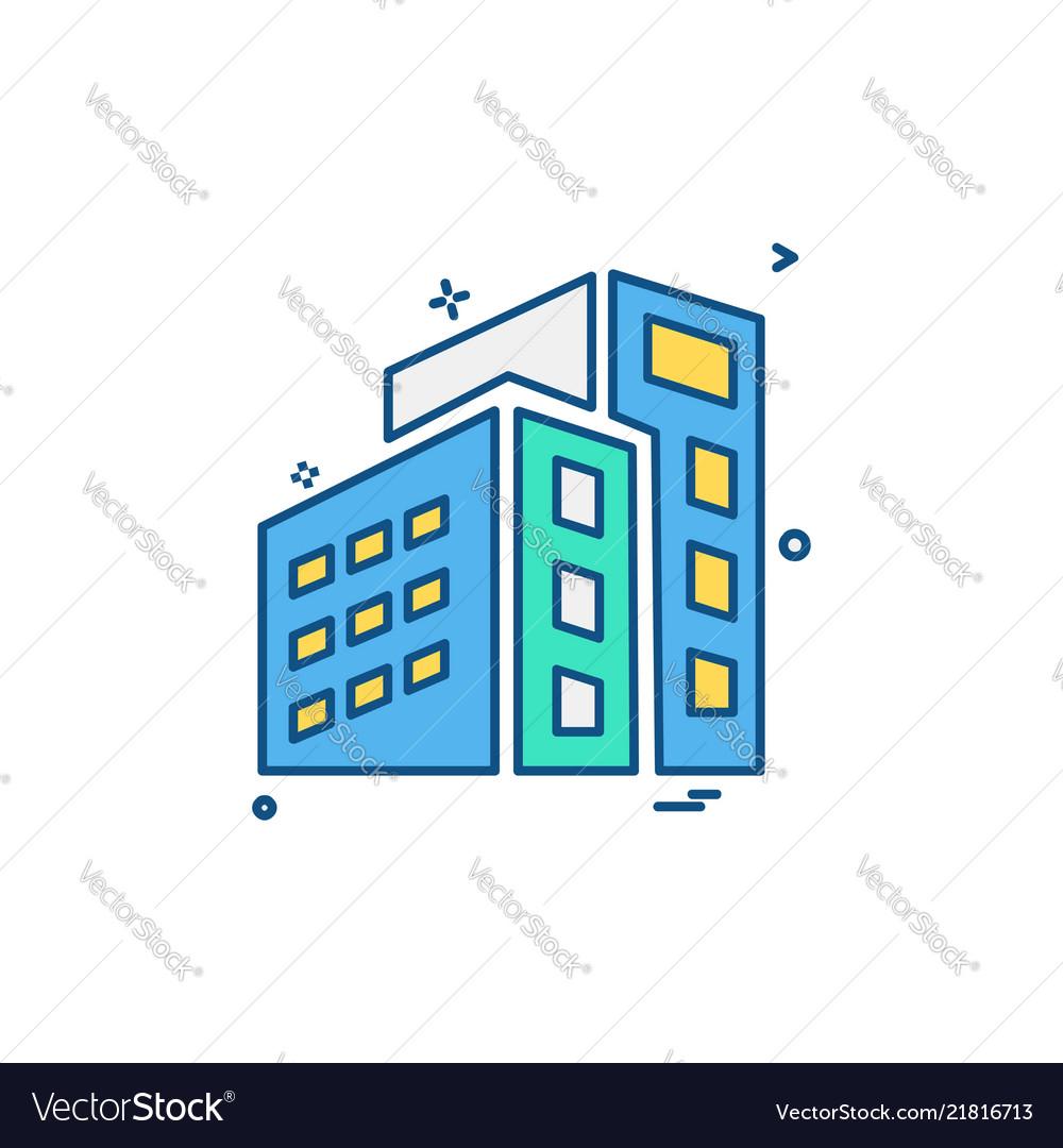 Building icon design