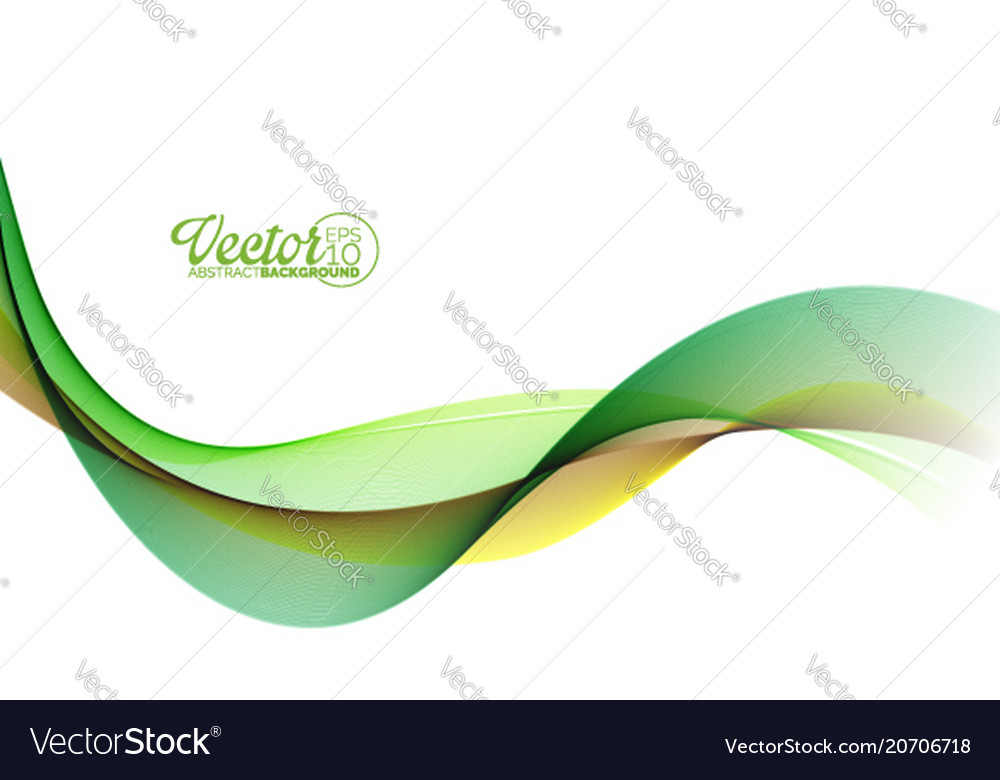 Abstract wave design on white background