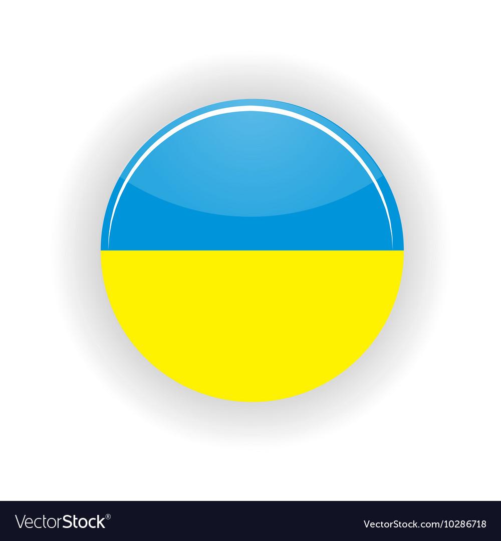 Ukraine icon circle