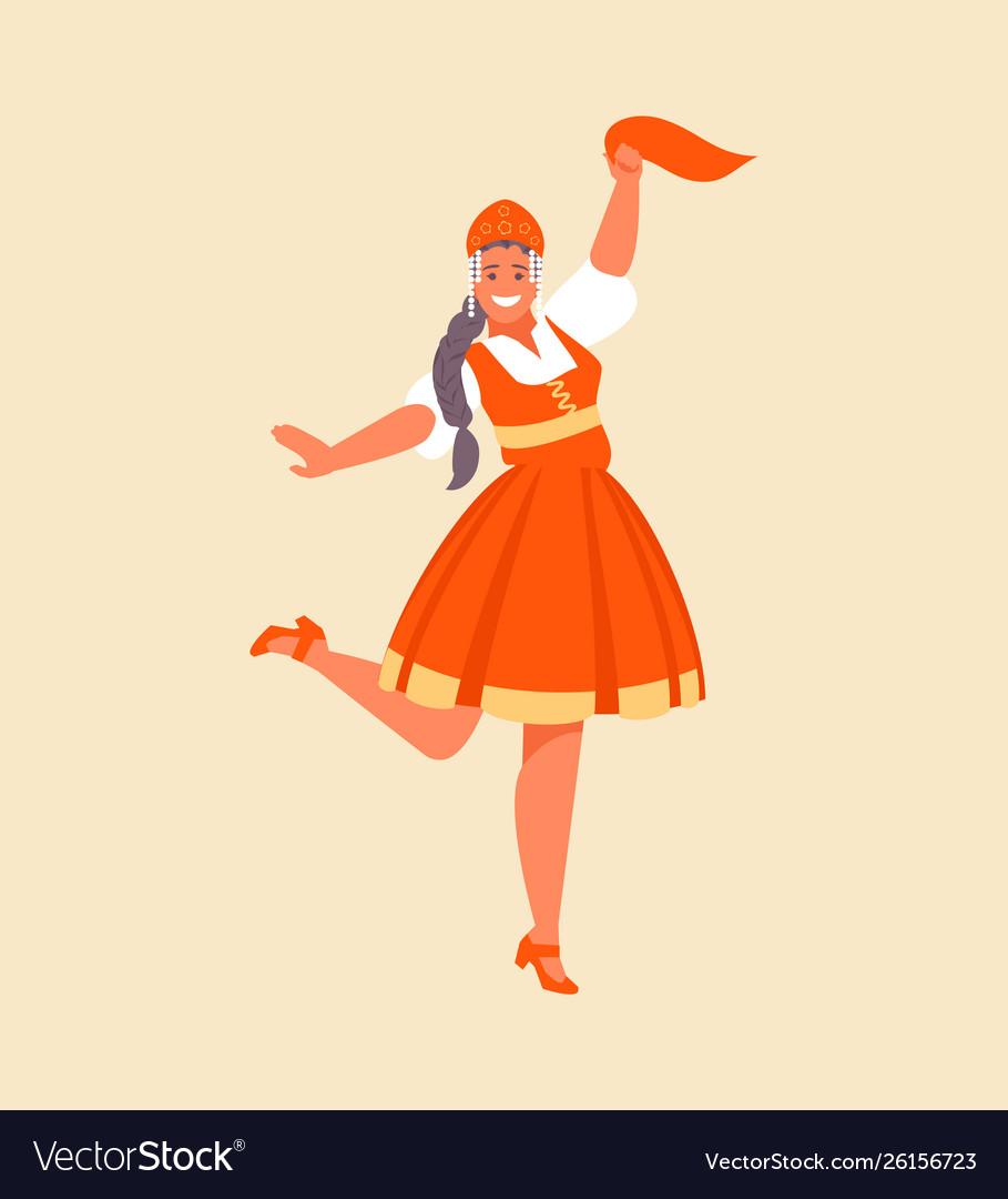 Russian dance girl