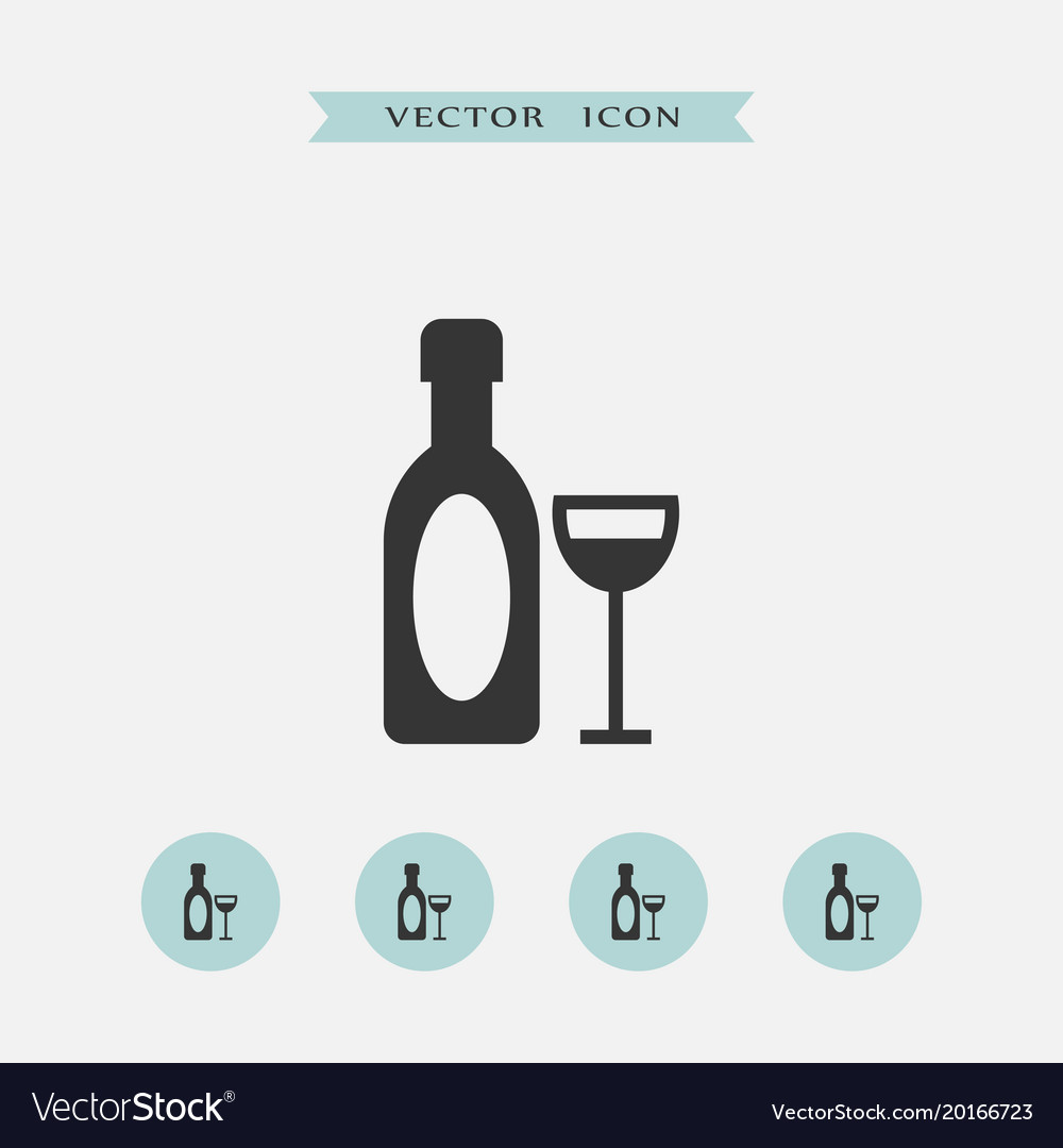 Wine icon simple