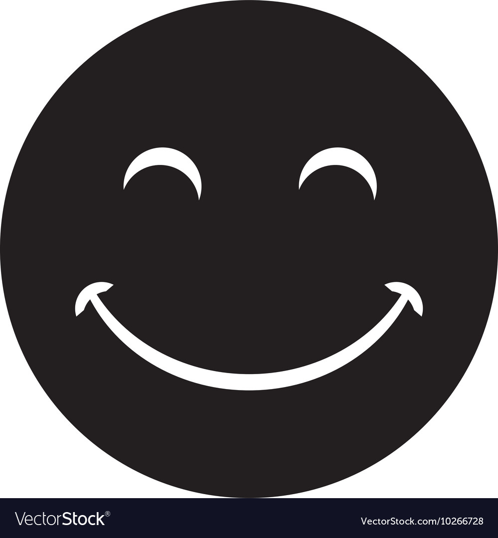 Black laughing happy smile