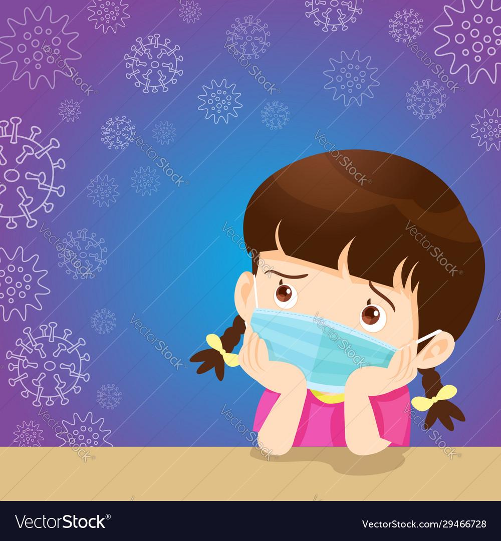 kids mask virus