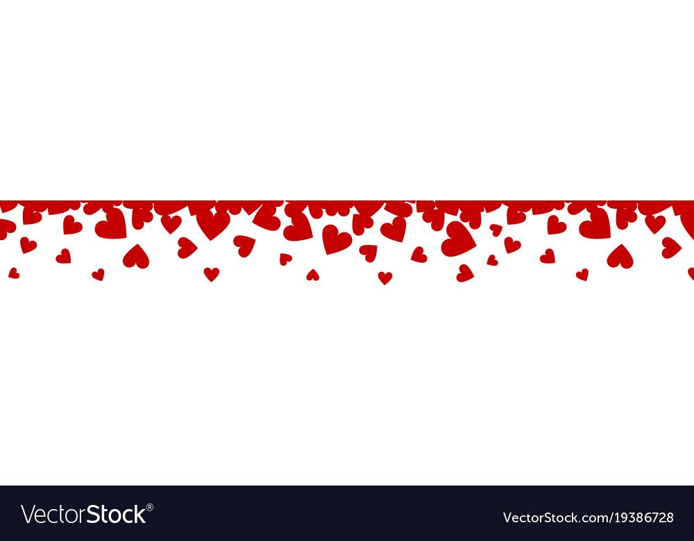 hearts border royalty free vector image vectorstock rh vectorstock com hearts border design hearts border images