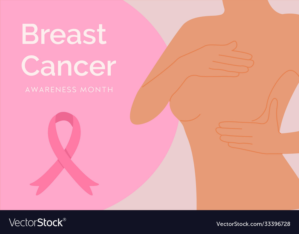 Pink banner with woman silhouette self check