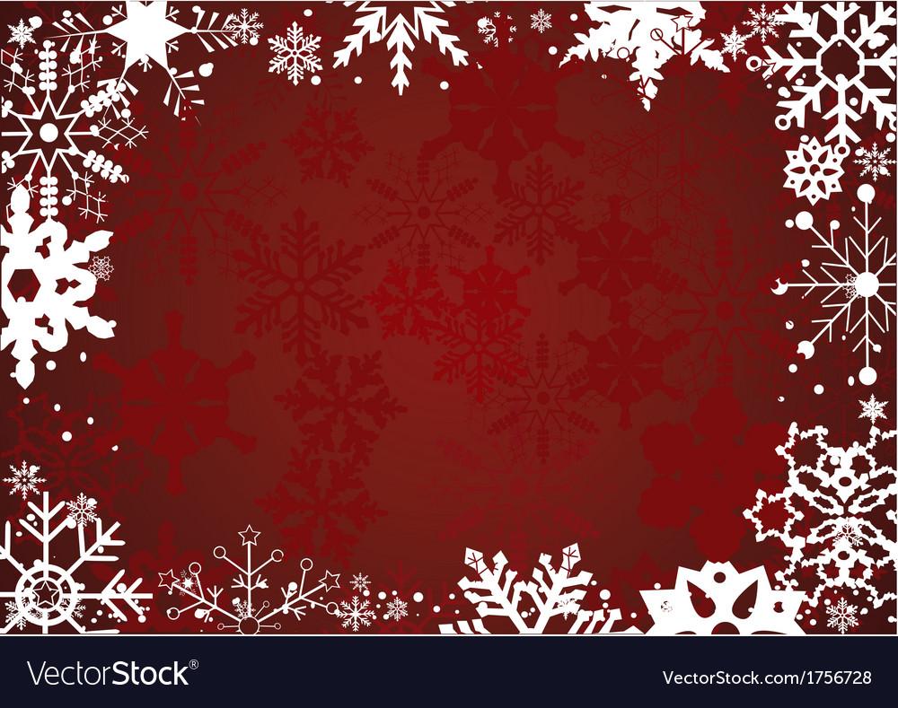 Snowflake frame