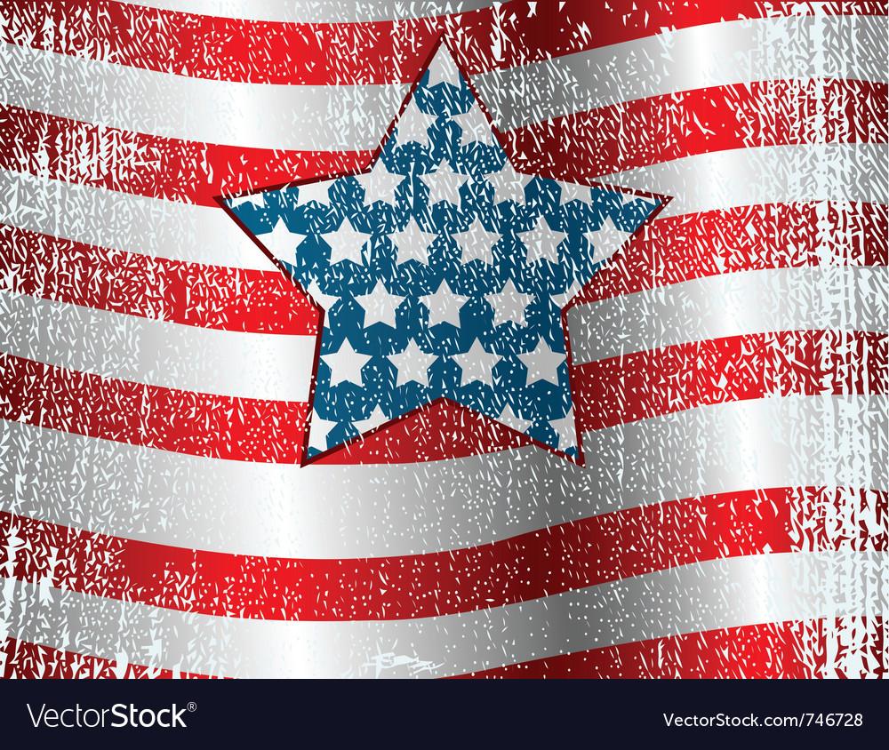 Usa flag theme grunge background