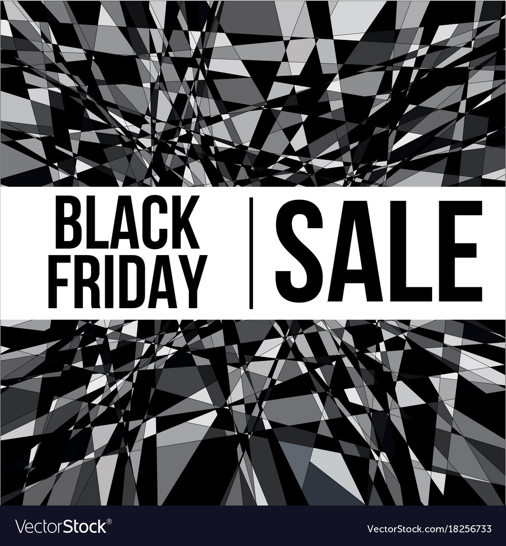 Black friday sale design poster