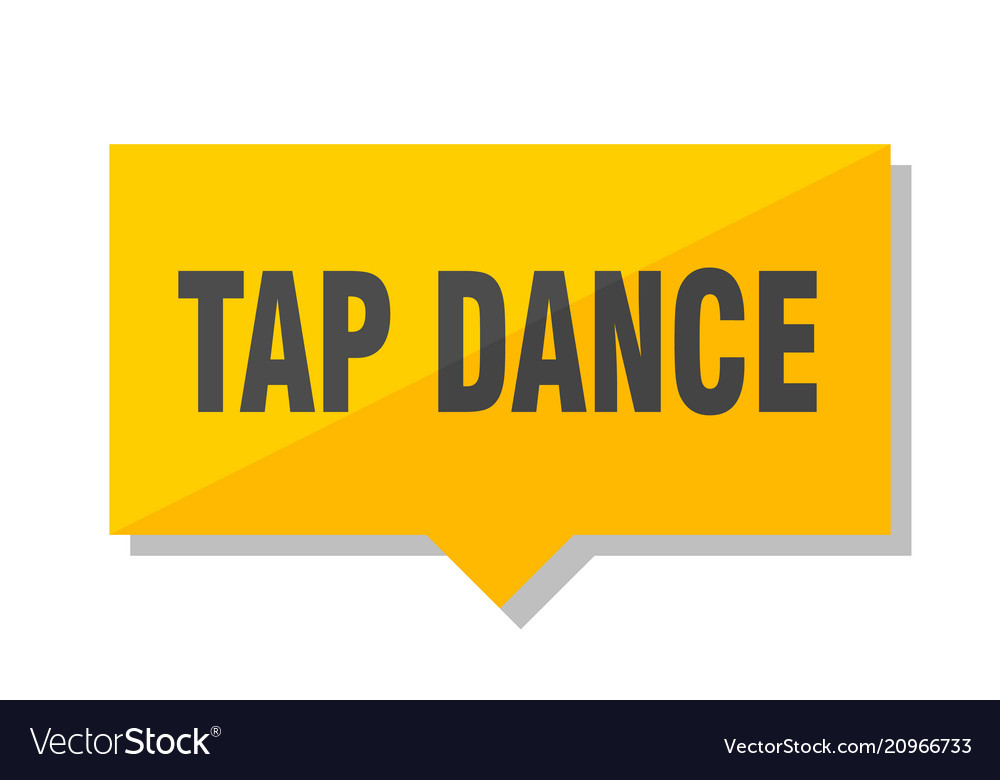Tap dance price tag
