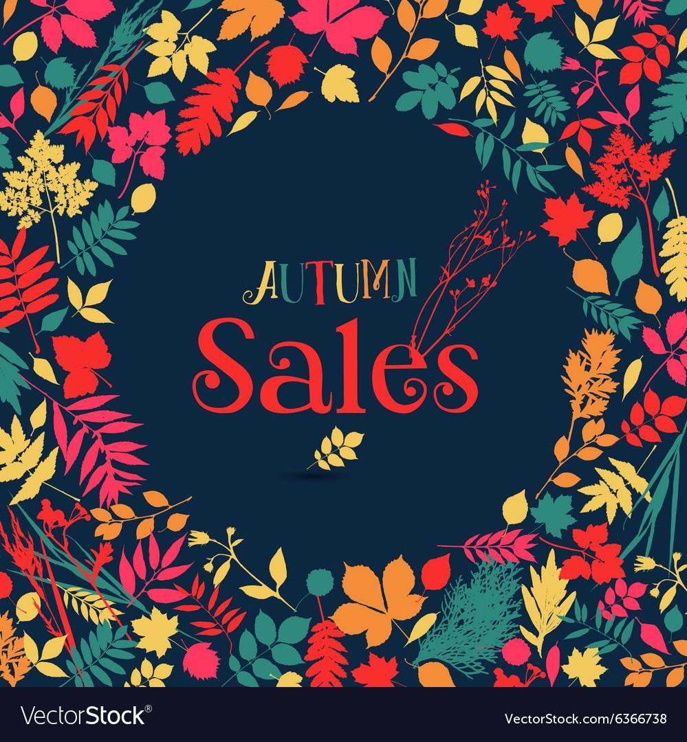 Autumn sales design
