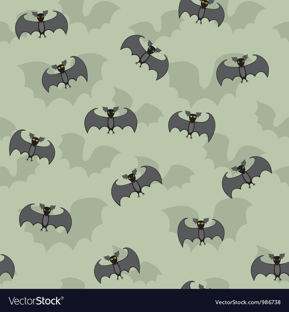 Cartoon Bats Seamless