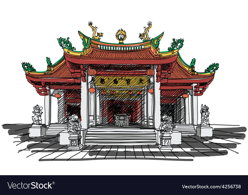 Chinese temple