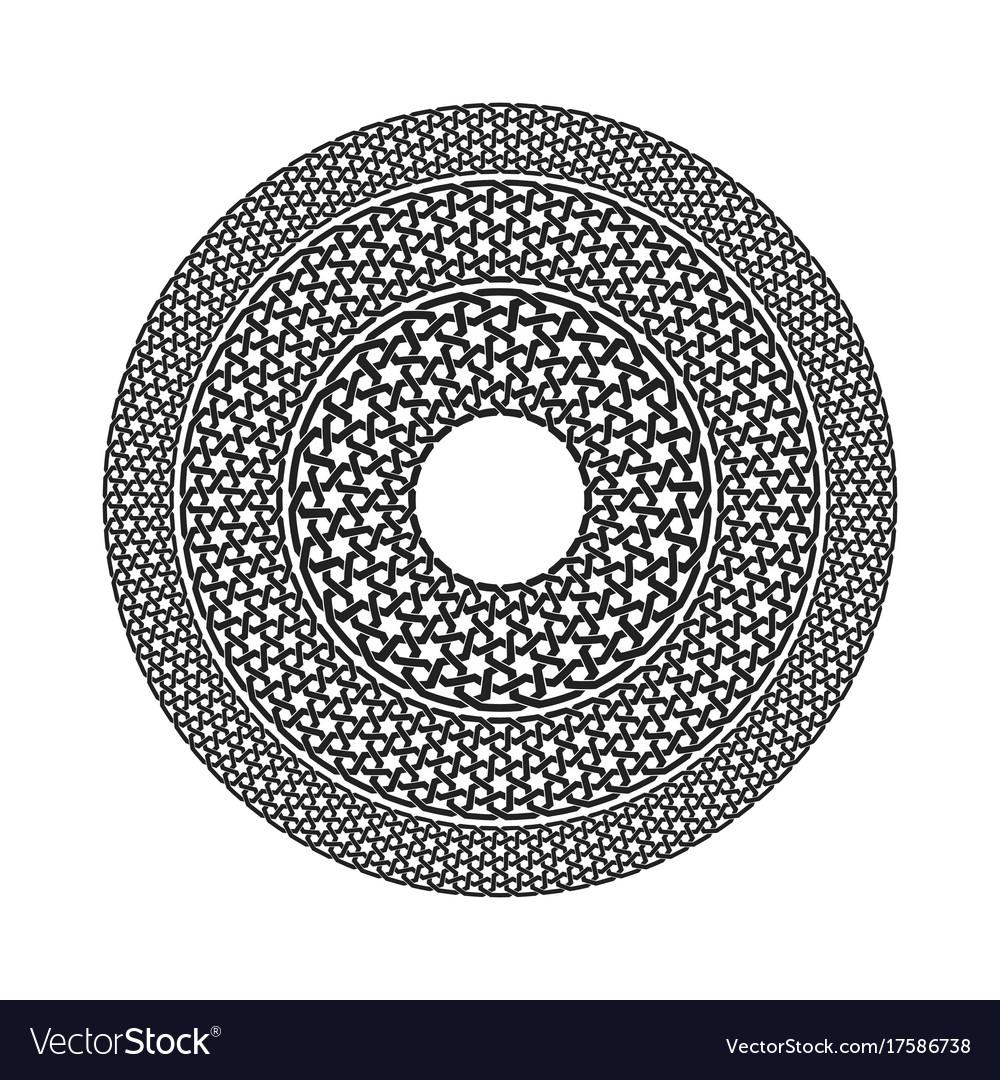 Geometric seamless muslim ornament backdrop