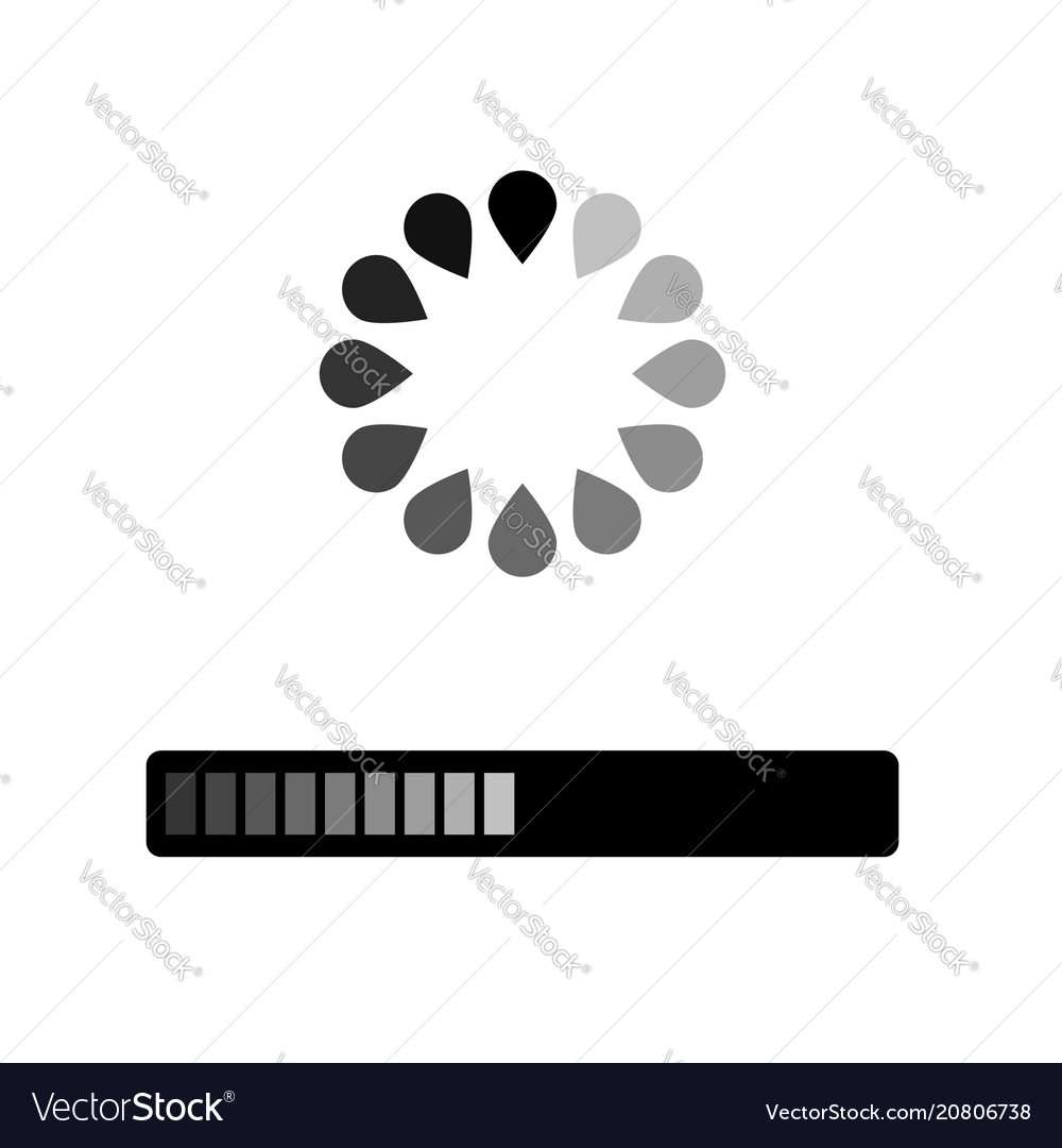Loading grey icon