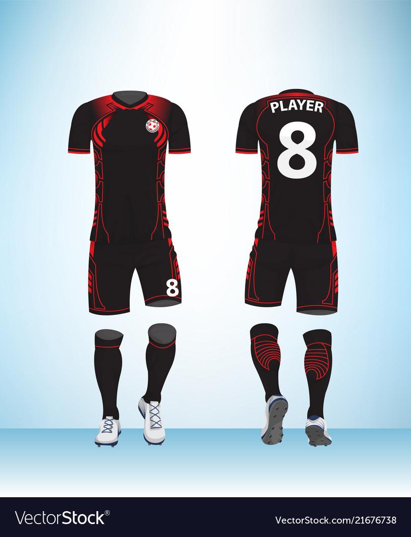 Uniform football black