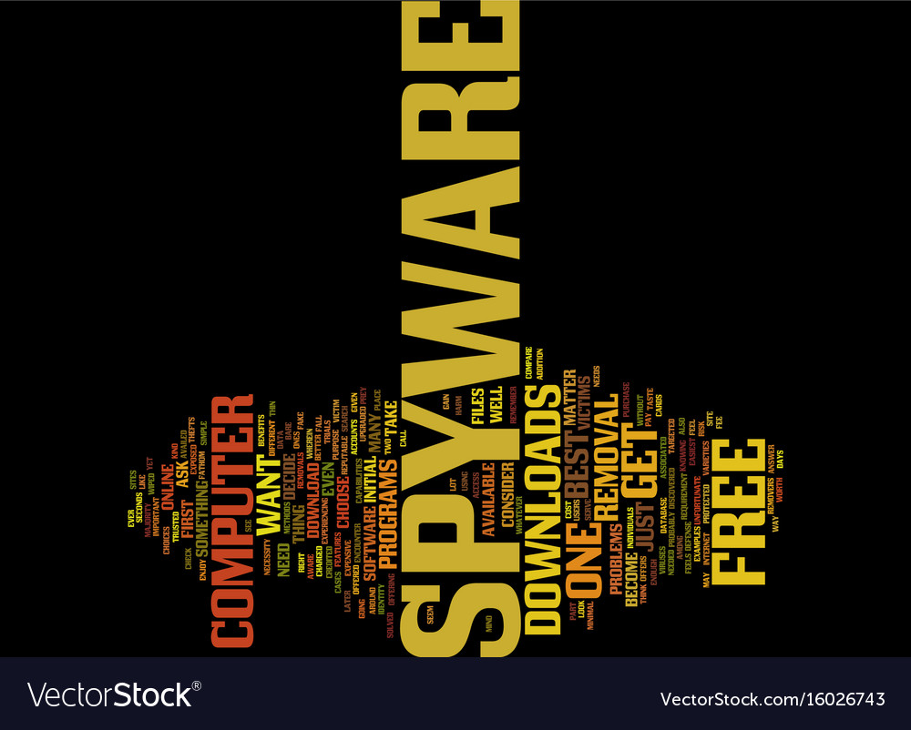Free spyware downloads text background word cloud