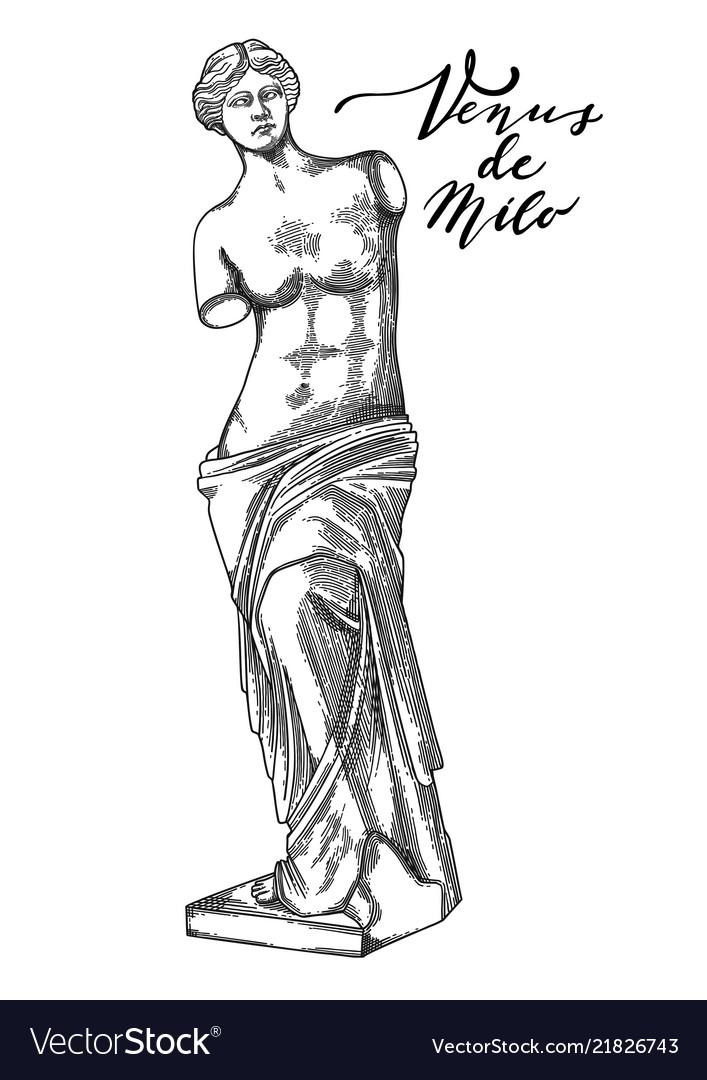 why does the venus de milo have no arms