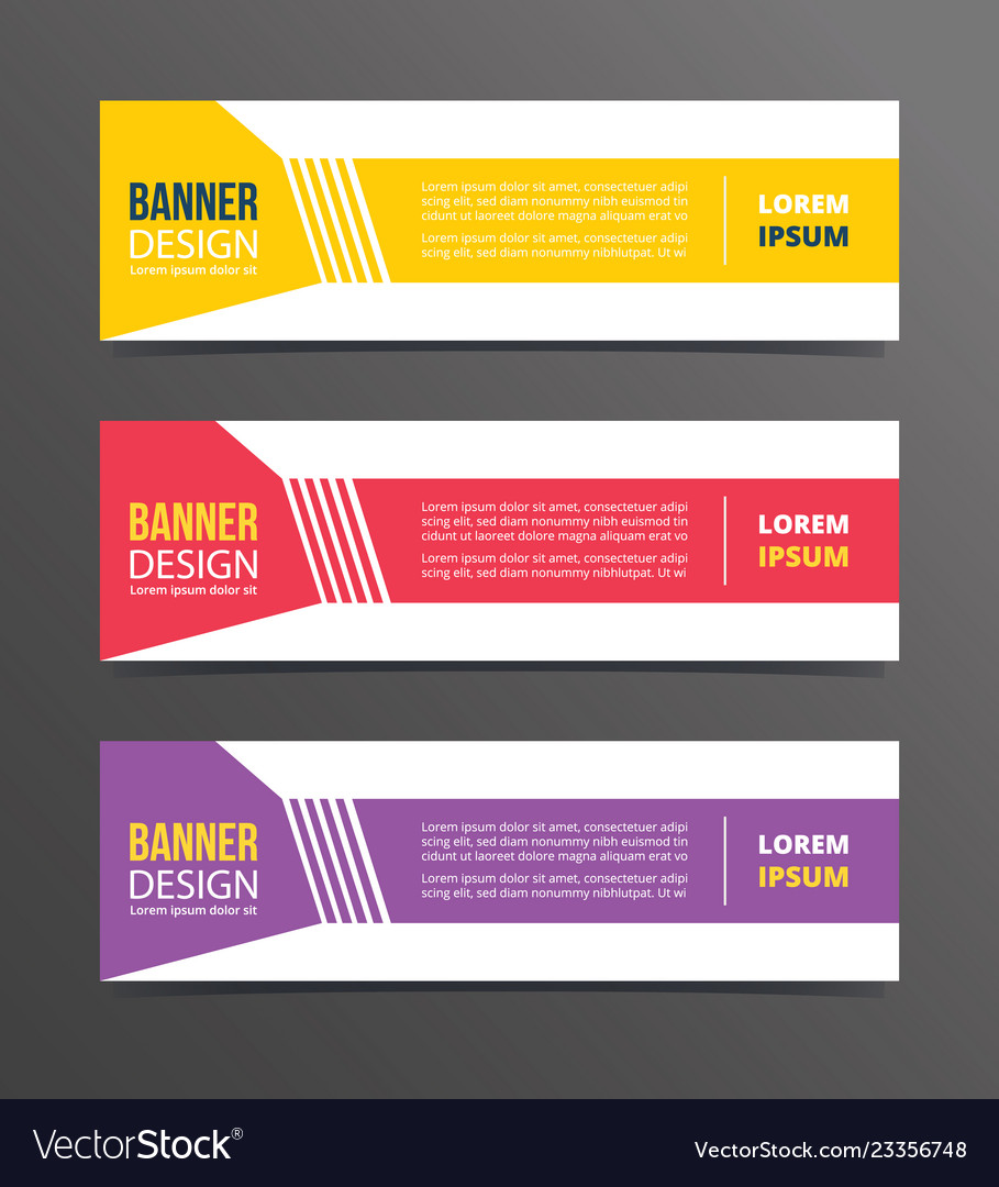 Shapes dotted angle on left style banner template