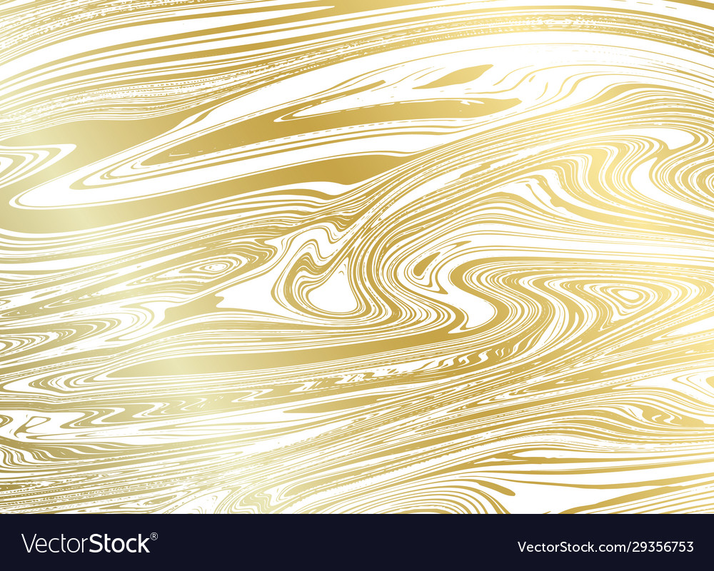 Gold marble texture on white background