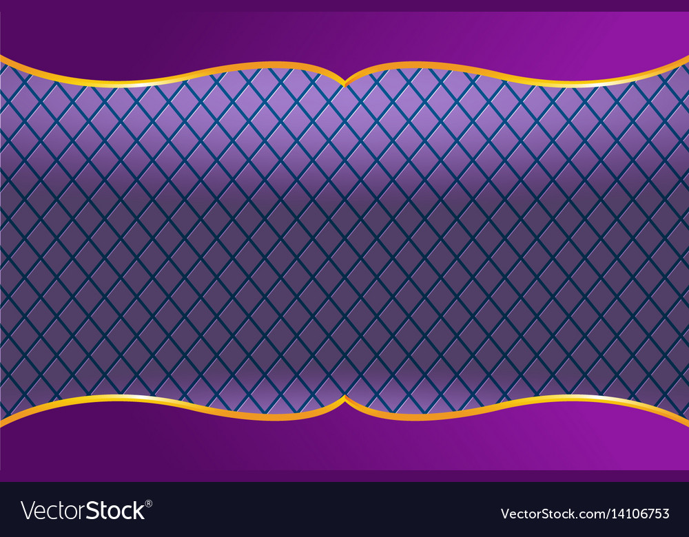 Thai frame luxury violet background Royalty Free Vector