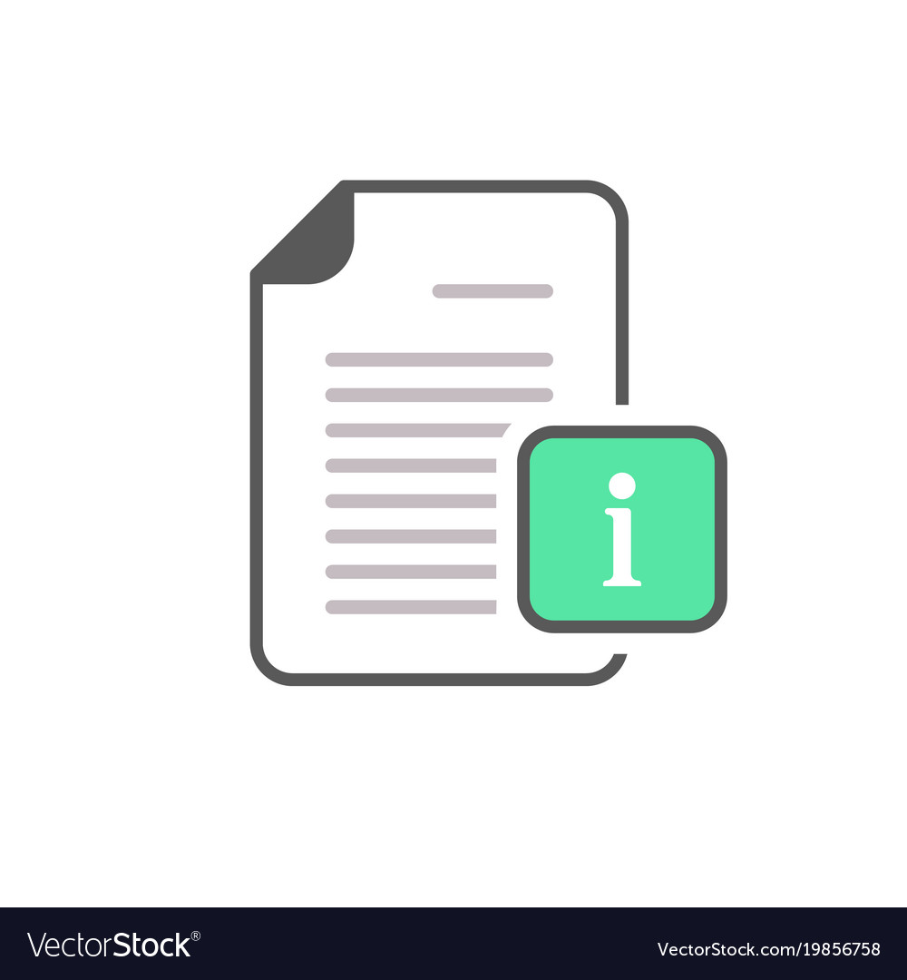 Document file info info button page icon
