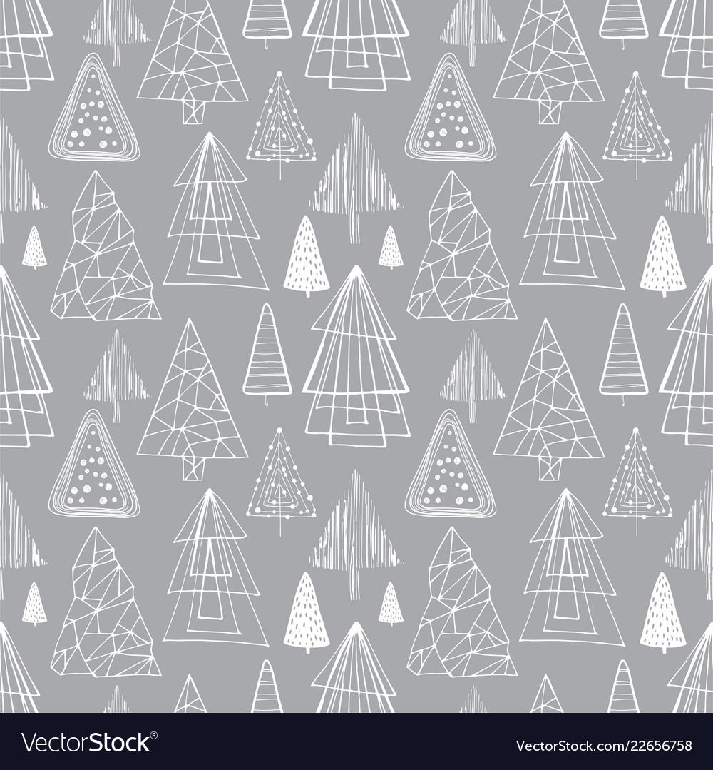 Winter seamless background