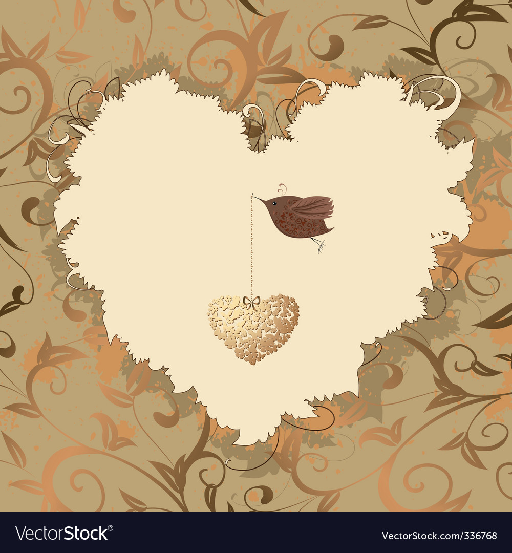 Bird heart of gold