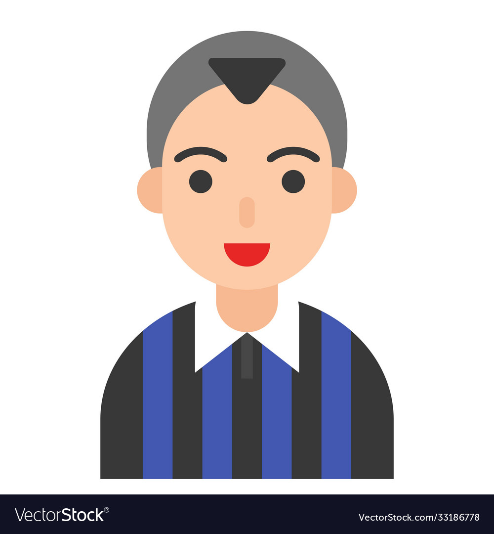 Football player icon profession and job