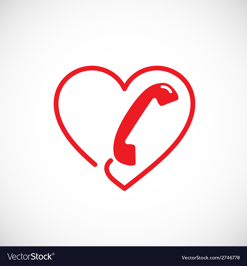 Helpline or phone sex abstract symbol icon