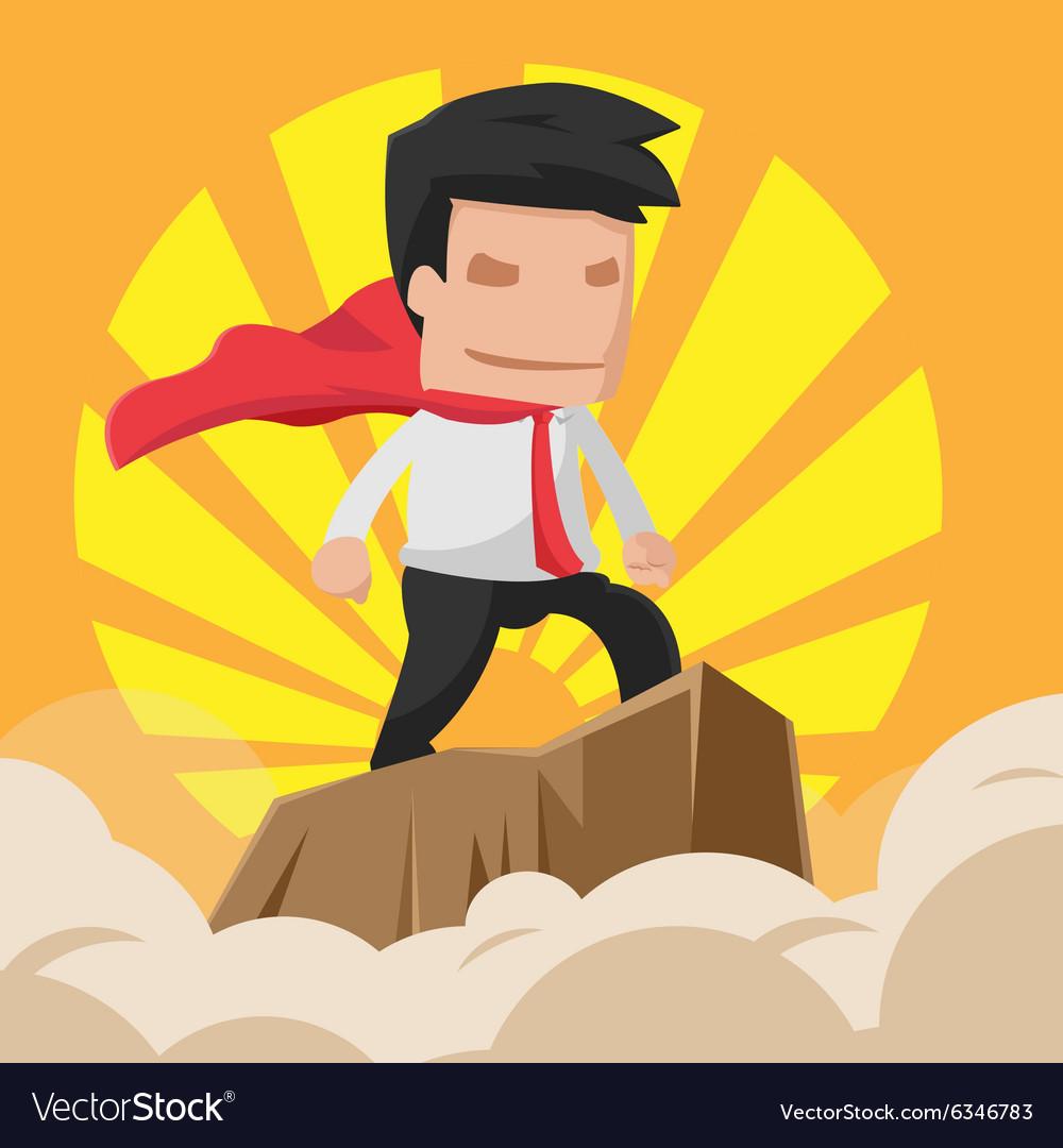 Man Hero Worker Power Business