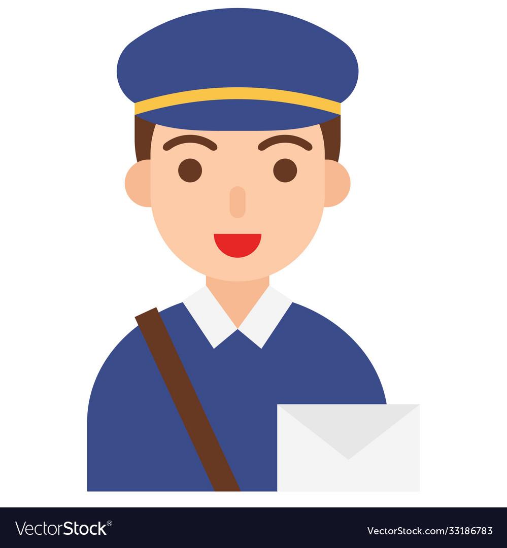 Postman icon profession and job
