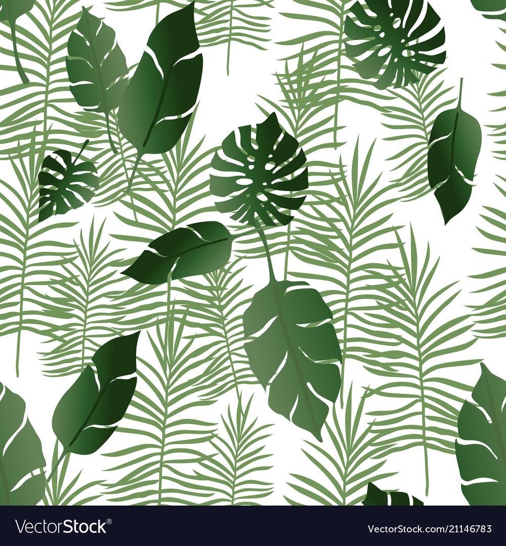 Seamless pattern exotic