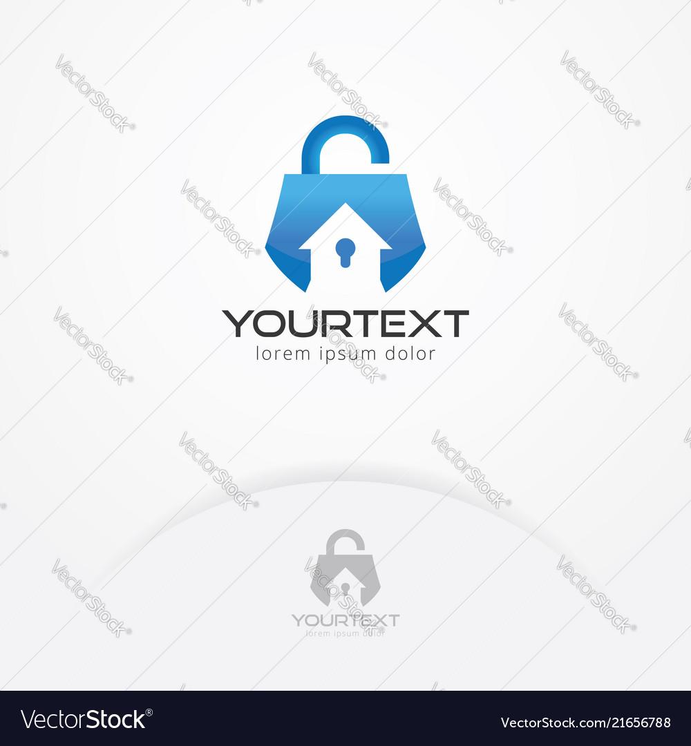 Home security system logo