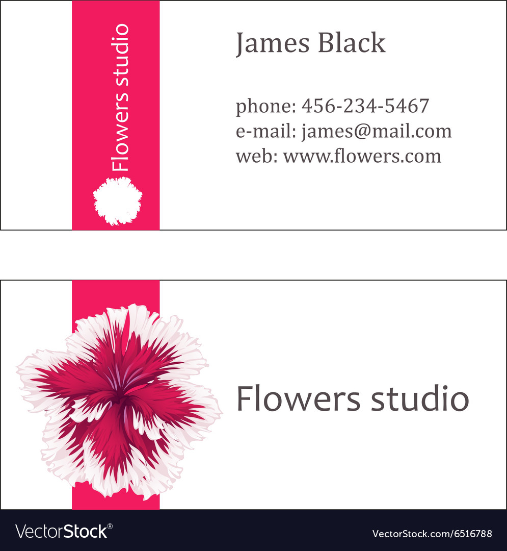 floral design business cards - Romeo.landinez.co