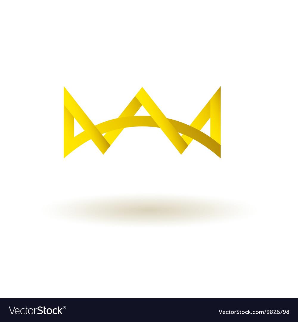 Crown king logo symbol icon