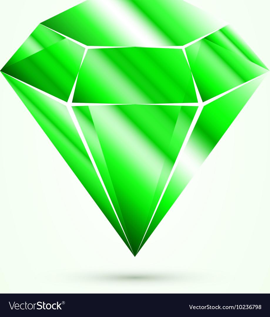 Emerald isolated