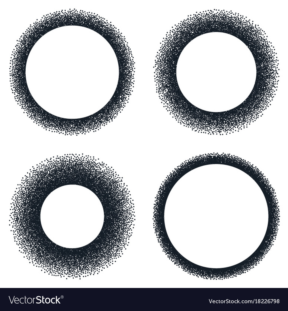 Stiple abstract halftone backgrounds eps 10 vector image