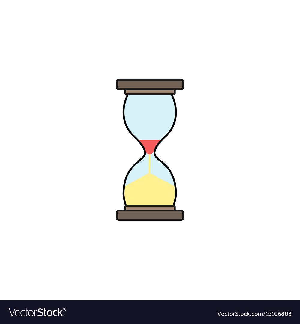 Business time management and deadline solid icon