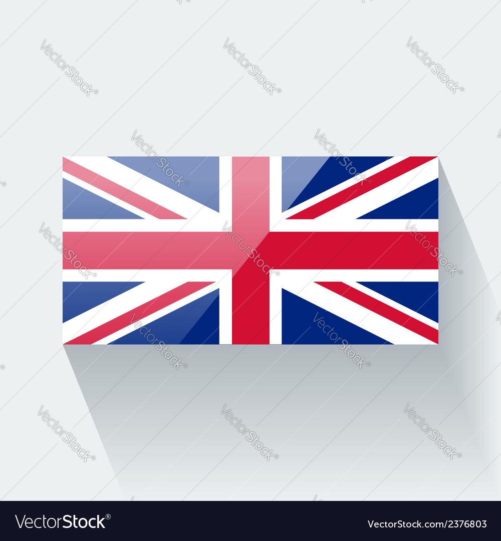 Flag of the UK vector image