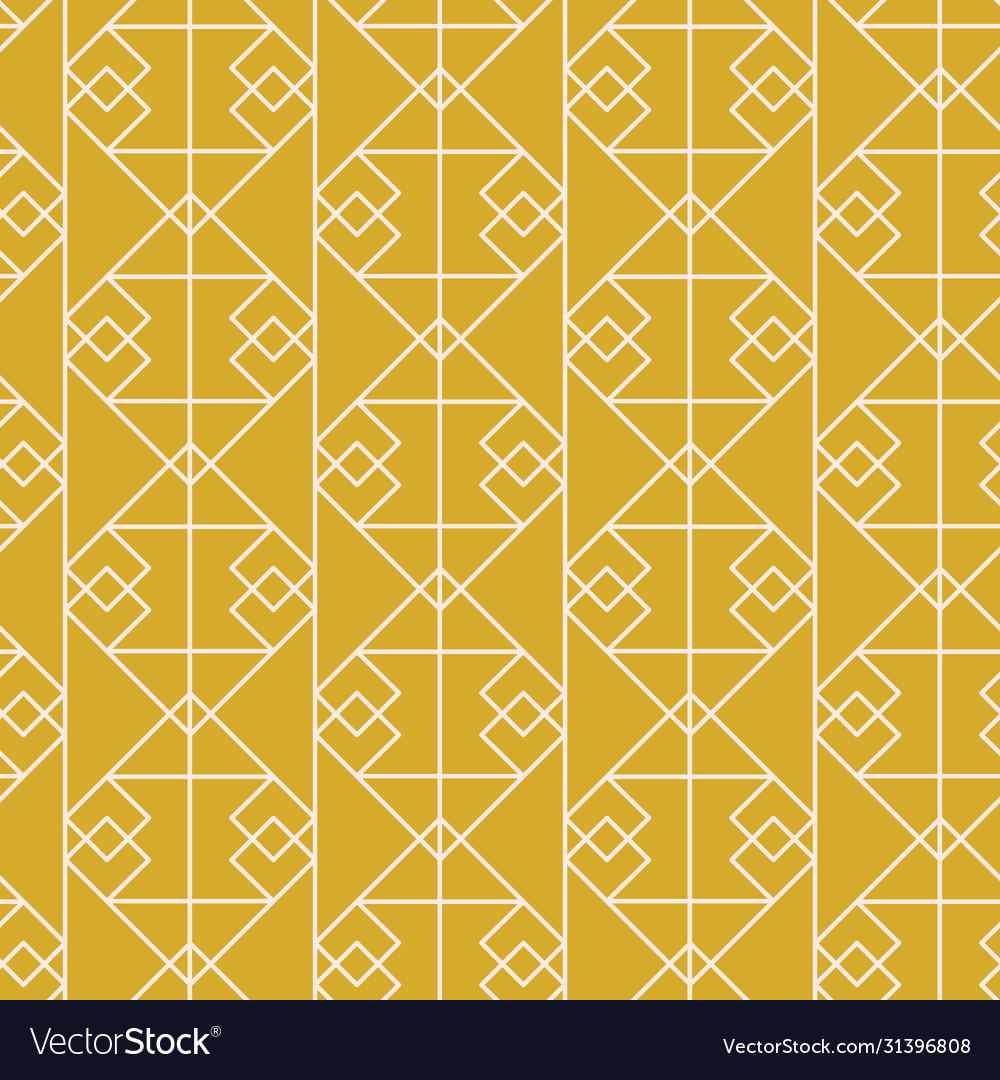 Geometric art deco elegant seamless pattern