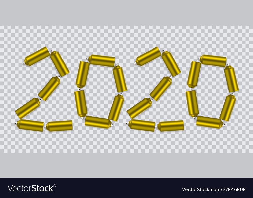 Happy new 2020 year holiday