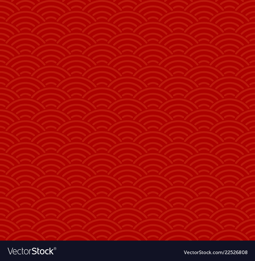 Red traditional seamless chinese pattern