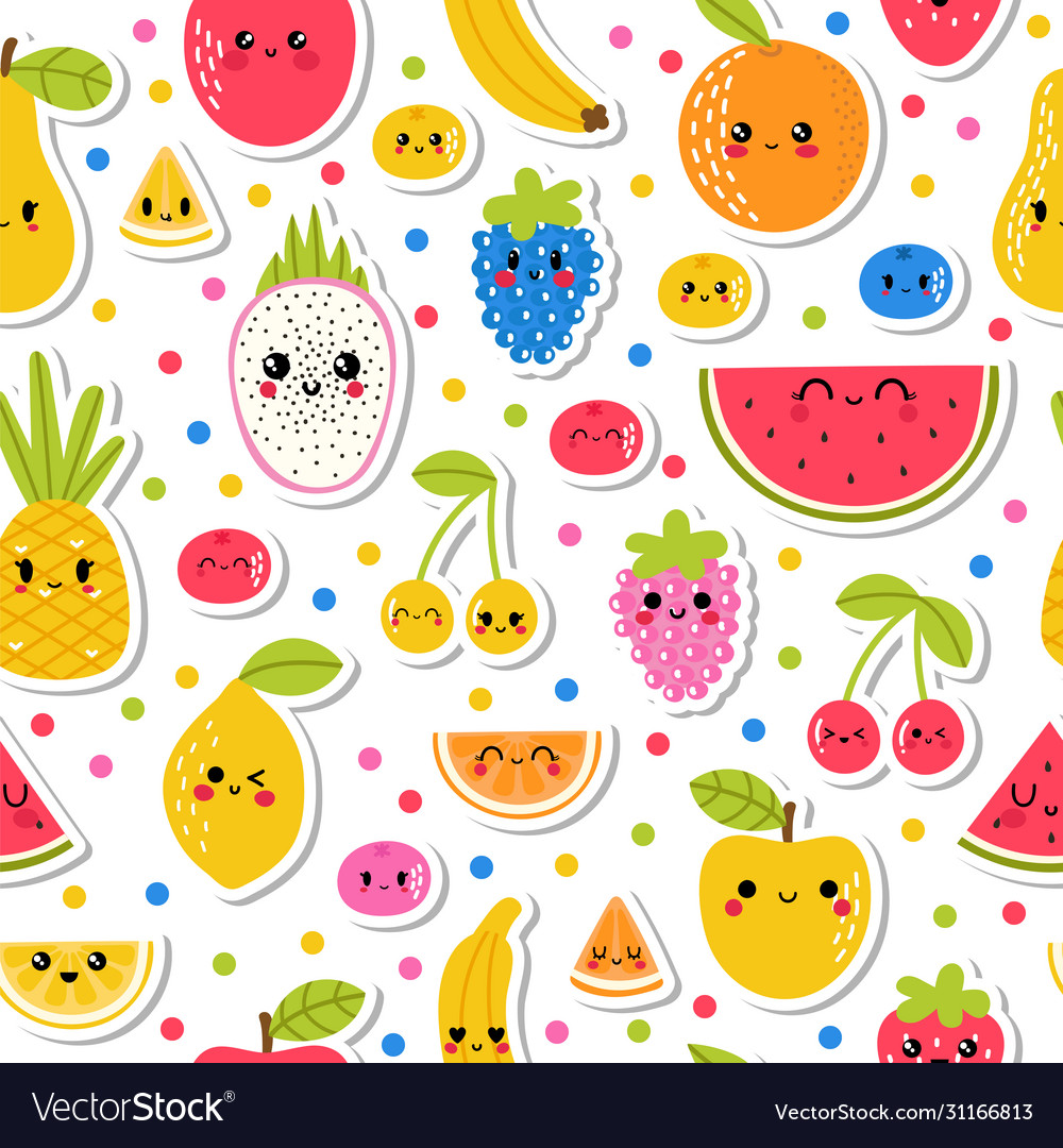Colorful hand drawn seamless pattern
