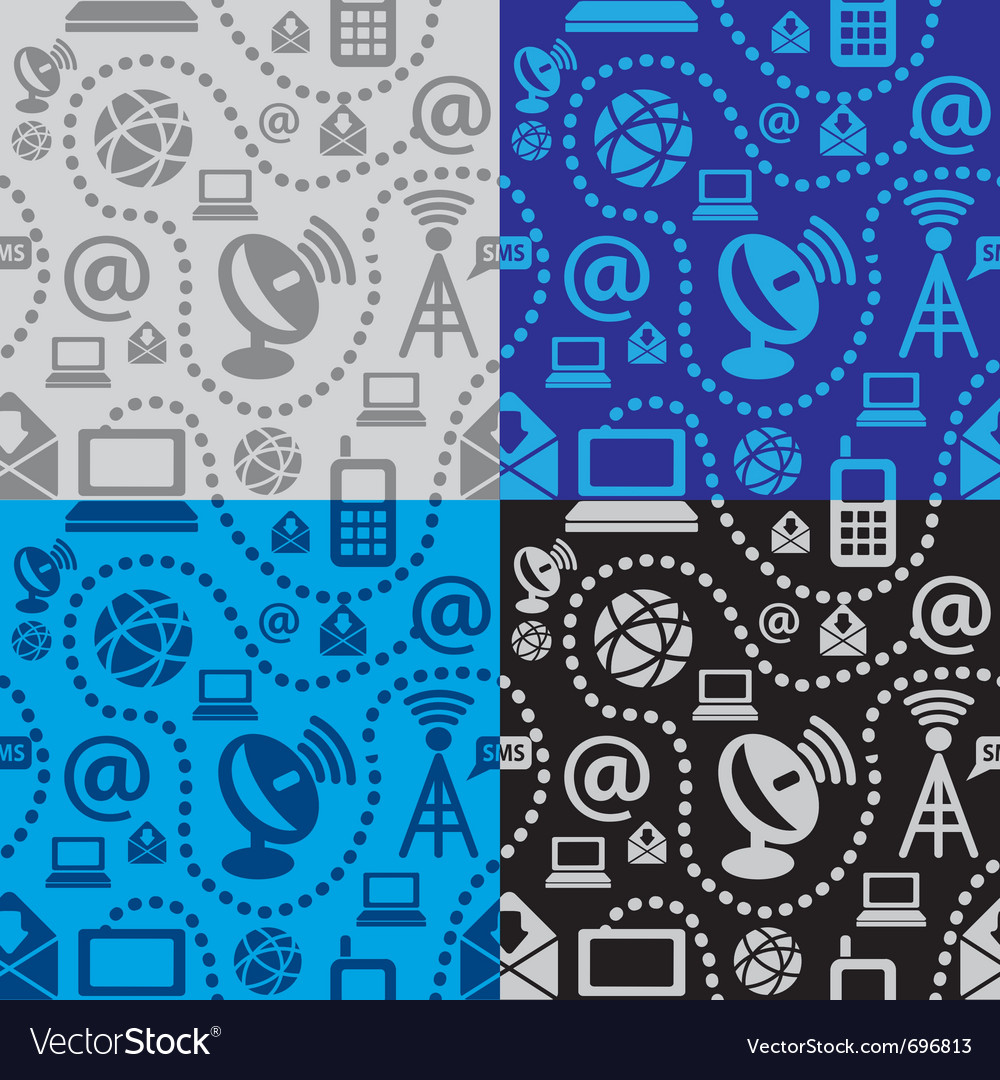 Web technology seamless pattern