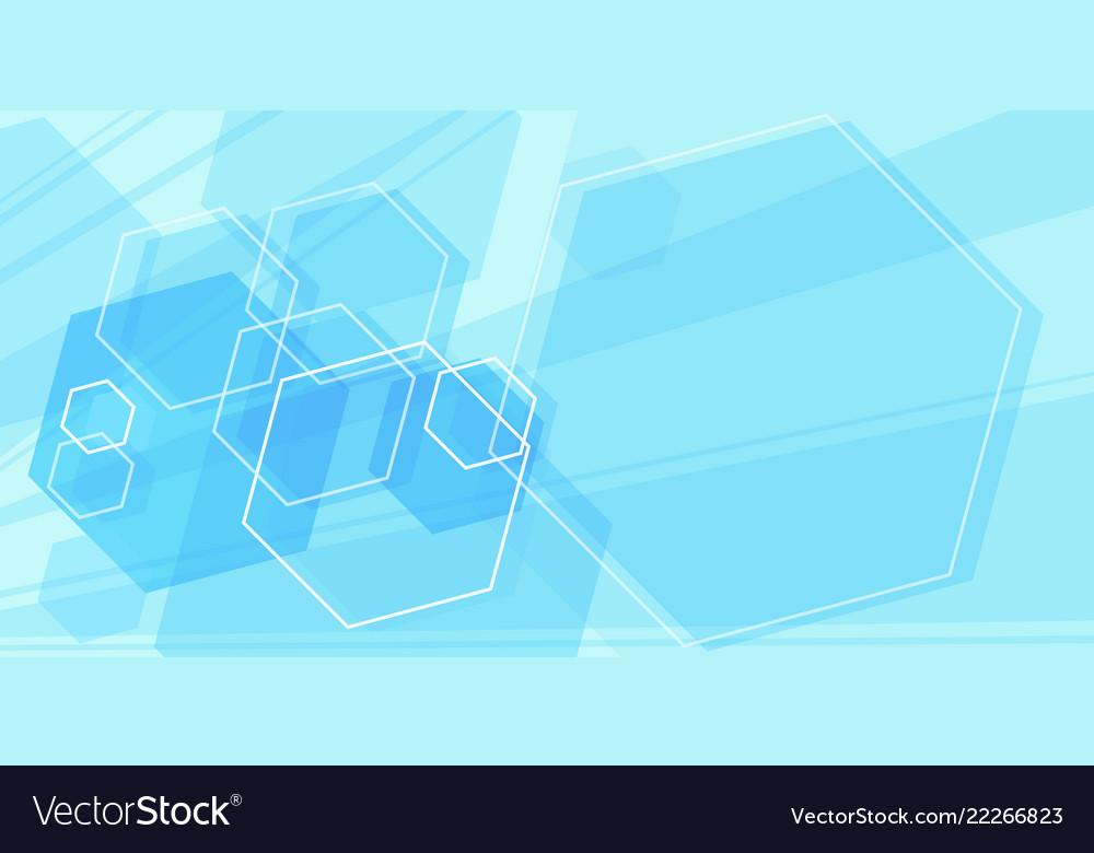 Blue scientific background